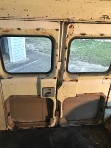 Side Door panels removed!